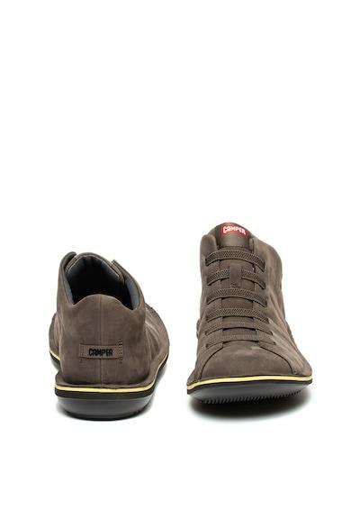 Camper Pantofi de piele nabuc Beetle Barbati