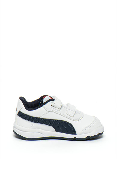 Puma Pantofi sport de piele ecologica Stepfleex 2 SL Baieti