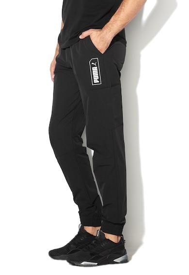 Puma Pantaloni cu snur interior, pentru fitness NU-Tility Barbati