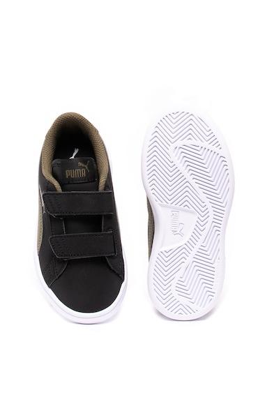 Puma Pantofi sport de piele ecologica, realizati cu SoftFoam+, Smash v2365183 Baieti