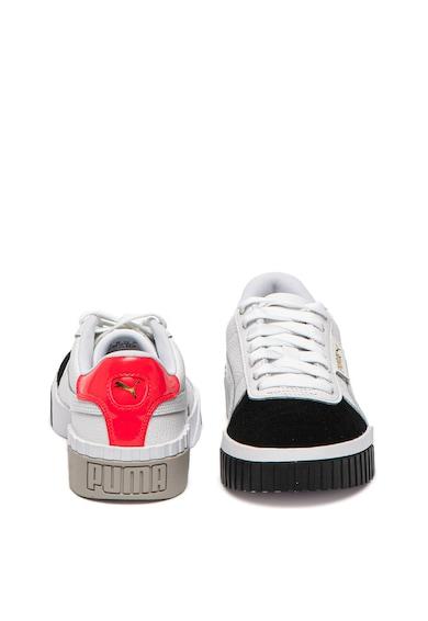 Puma Спортни обувки Cali Remix от кожа и велур Жени