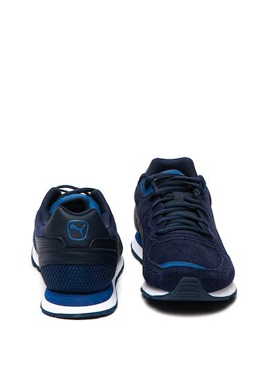 Puma Pantofi sport de piele intoarsa, cu garnituri de piele ecologica Vista Barbati