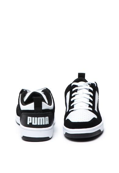Puma Pantofi sport cu insertii de piele intoarsa Rebound Femei