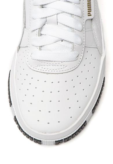 Puma Спортни обувки Cali Bold от кожа с релефно лого Жени