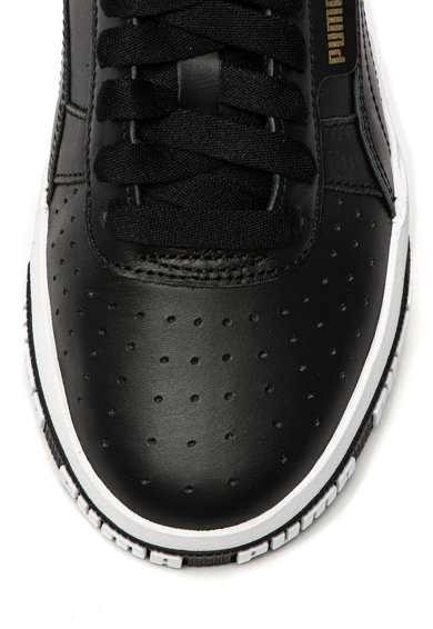 Puma Pantofi sport de piele, cu logo in relief Cali Bold Femei