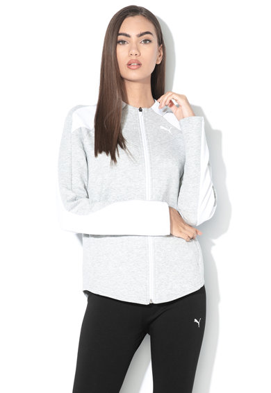 Puma Hanorac cu logo Evo Stripe Femei