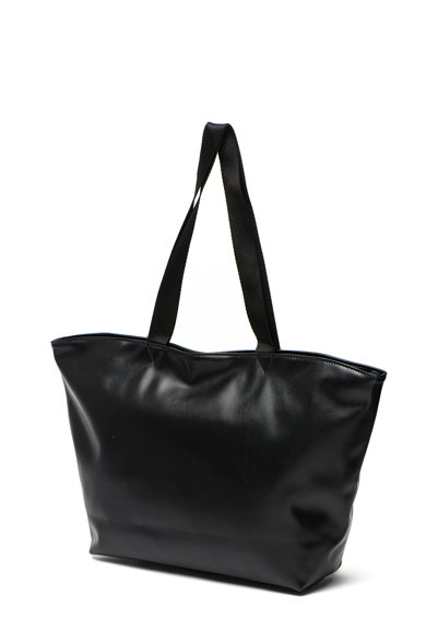 Puma Geanta shopper de piele ecologica, cu logo Core Up Femei