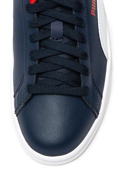 Puma Спортни обувки Smash V2 с кожени детайли365170 Момичета