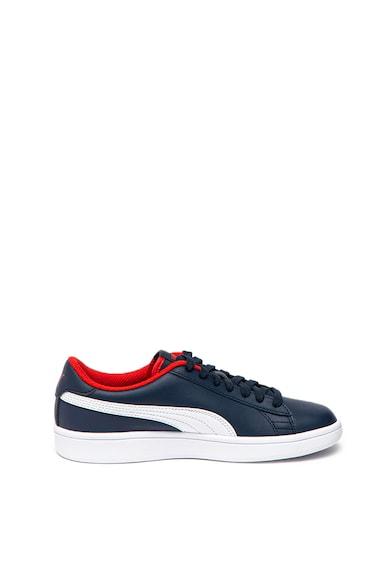 Puma Pantofi sport cu garnituri de piele Smash V2365170 Fete