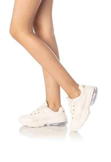 Puma Pantofi sport de piele cu garnituri de piele intoarsa Venom Hypertech Femei