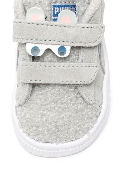 Puma Спортни обувки Winter Monster от велур Момичета