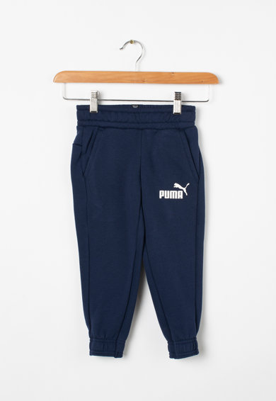 Puma Pantaloni sport cu imprimeu logo Fete