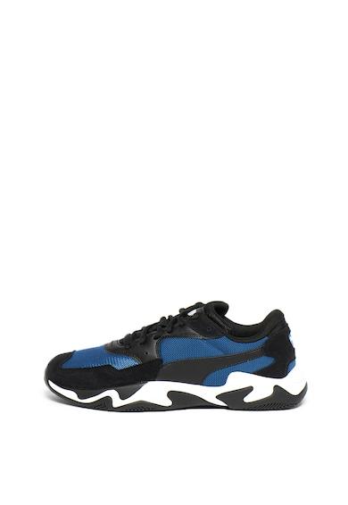 Puma Pantofi sport din material textil, cu insertii de piele intoarsa Storm Adrenaline Barbati