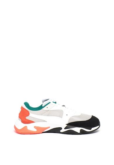 Puma Pantofi sport unisex, cu model colorblock Storm Adrenaline Femei