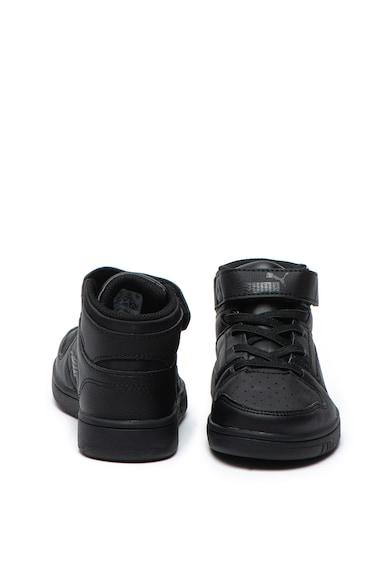 Puma Pantofi sport mid-high de piele ecologica Rebound Layup Fete