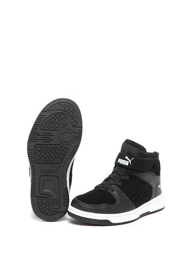 Puma Спртни обувки Rebound с еко пух Момичета