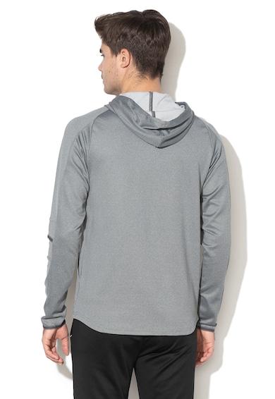 Puma Tec Slim Fit kapucnis pulóver logórátéttel férfi