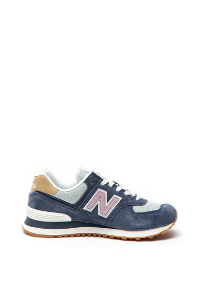 New Balance Спортни обувки 574 с елементи от велур и текстил Жени