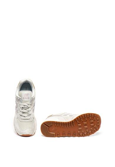 New Balance Спортни обувки 574 от небук и текстил Жени