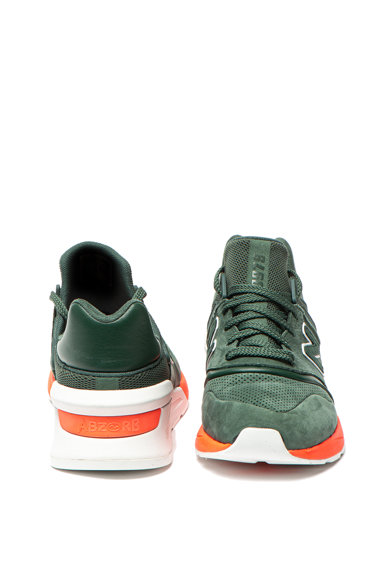 New Balance Pantofi sport slip-on cu garnituri de piele 997S Barbati