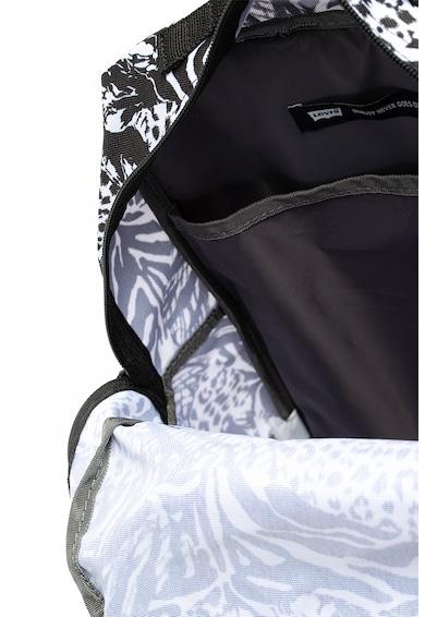 Levi's Rucsac cu animal print si buzunar pentru laptop, 25L Barbati