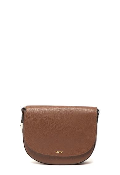 Levi's Keresztpántos műbőr táska fémlogós kiegészítővel női