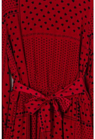 Liu Jo Десенирана рокля с дипли Момичета