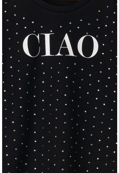 Liu Jo Tricou cu imprimeu text si strasuri Fete