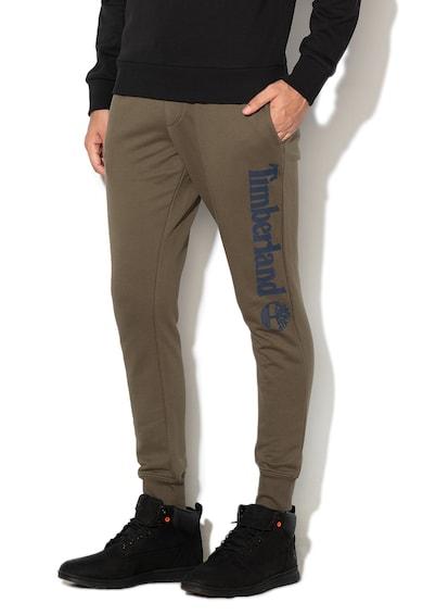 Timberland Pantaloni sport cu imprimeu logo cauciucat Barbati