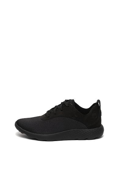Timberland Pantofi sport wide fit, cu insertii de piele nabuc FlyRoam Barbati
