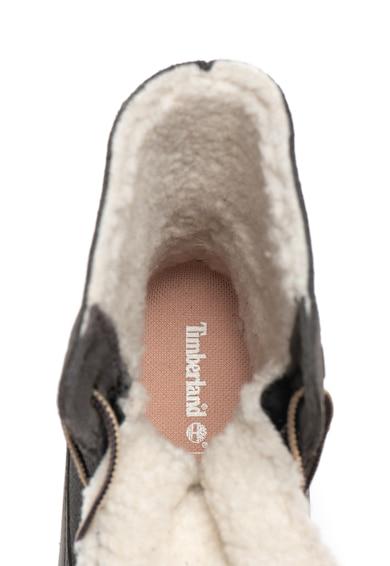 Timberland Cizme impermeabile de piele nabuc si piele intoarsa cu captuseala din material teddy Femei