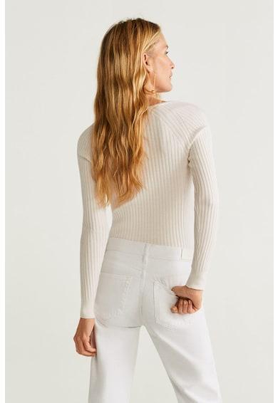 Mango Рипсен плетен пуловер Goleta Жени