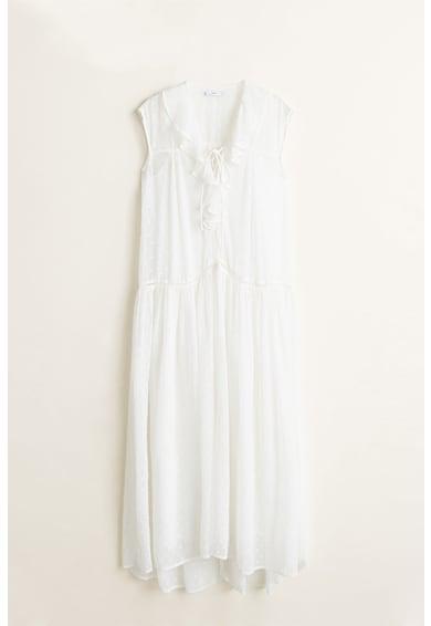 Mango Среднодълга рокля Pluma Жени