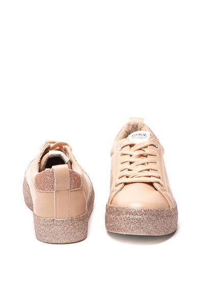 Only Спортни обувки Sherby от еко кожа с бляскава платформа Жени