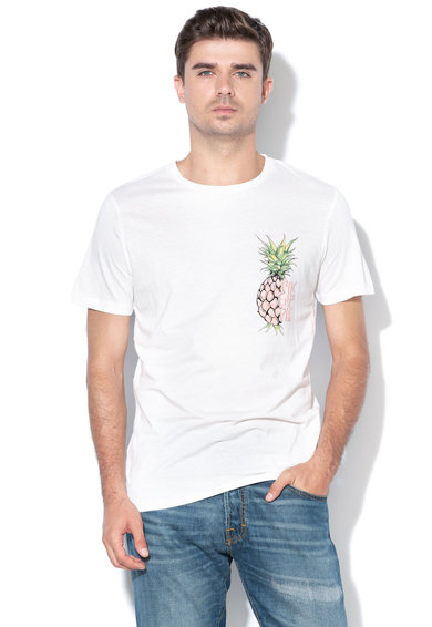 Jack&Jones Десенирана тениска Melting Мъже