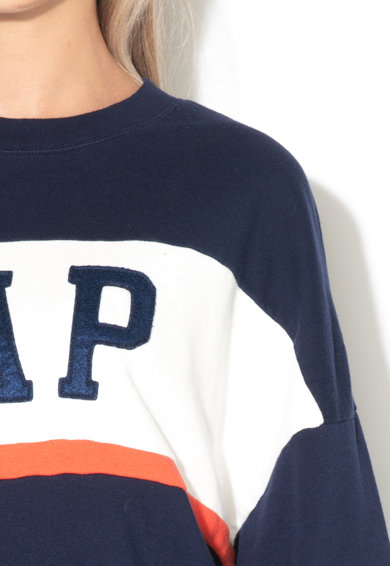 GAP Bluza sport cu decolteu la baza gatului si logo Femei