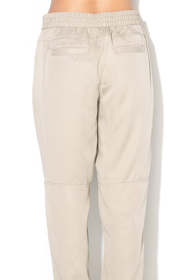 Banana Republic Pantaloni din lyocell cu terminatii elastice Femei