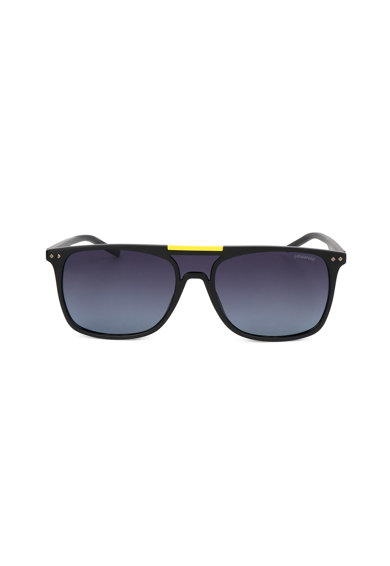 Polaroid Ochelari de soare patrati unisex, cu lentile polarizate Femei