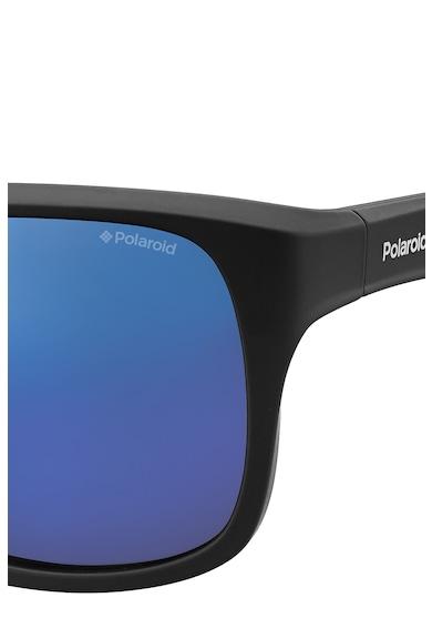 Polaroid Ochelari de soare cu lentile polarizate si aspect mat Barbati
