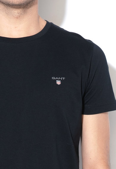 Gant Tricou slim fit cu logo brodat The Original Barbati