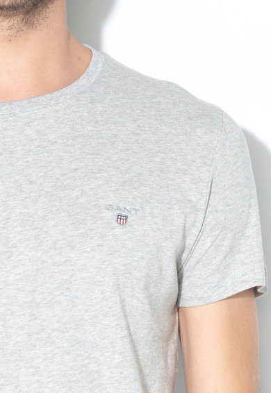 Gant Tricou slim fit cu logo brodat The Original Barbati