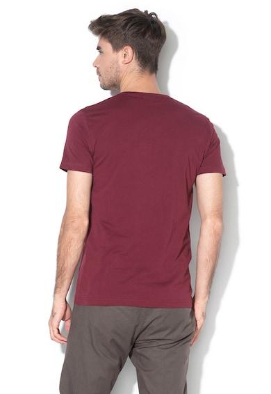 Gant Szűk fazonú V-nyakú póló logóval férfi