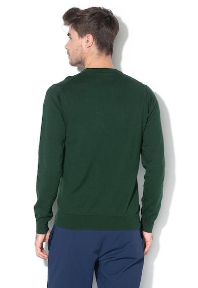 Gant Finomkötött pulóver hímzett logós részlettel 2 férfi