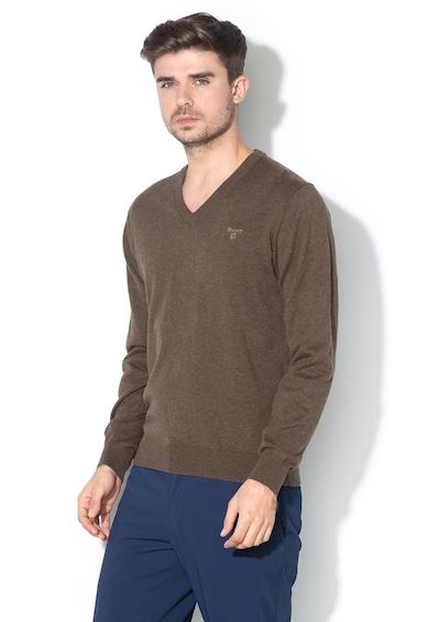 Gant Finomkötött V-nyakú pulóver férfi