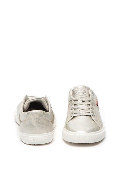 Levi's Woods műbőr sneaker fémes hatással női