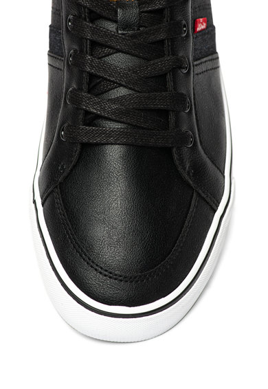Levi's Pantofi sport de piele ecologica, cu insertii textile Turner Barbati
