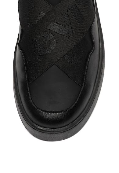 Levi's Pantofi sport slip-on de piele si material textil Mullet Femei