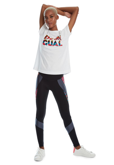 DESIGUAL Tricou cu imprimeu logo Femei