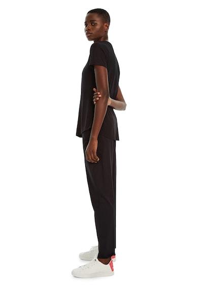 DESIGUAL Tricou din amestec de modal, cu logo frontal Femei