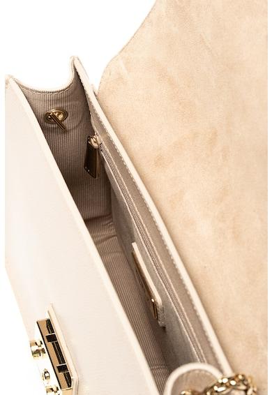 Furla Кожена чанта за рамо Metropolis с отделяща се презрамка Жени